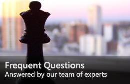 Frequent Questions—Answered by our team of experts