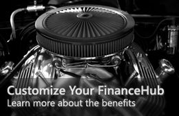 Customize Your FinanceHub—Learn more about the benefits